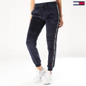 /achat-pantalons-joggings/tommy-hilfiger-pantalon-jogging-velours-a-bandes-track-2042-bleu-marine-201354.html