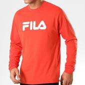 /achat-t-shirts-manches-longues/fila-tee-shirt-manches-longues-classic-pure-681092-orange-201383.html