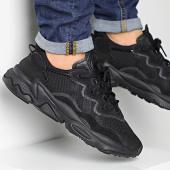 /achat-baskets-basses/adidas-baskets-ozweego-ee6999-core-black-grey-five-201496.html