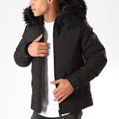 /achat-vestes/classic-series-veste-zippee-capuche-fourrure-d9206-noir-201554.html