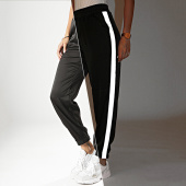/achat-pantalons-joggings/girls-only-pantalon-jogging-femme-a-bandes-v2362-noir-reflechissant-201471.html