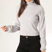 /achat-pulls/girls-only-pull-crop-femme-col-roule-a03-gris-chine-201486.html