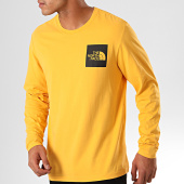 /achat-t-shirts-manches-longues/the-north-face-tee-shirt-manches-longues-fine-37ft-jaune-201498.html
