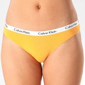 /achat-strings-culottes/calvin-klein-culotte-femme-bikini-0000d1618e-orange-blanc-201597.html