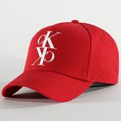 /achat-casquettes-de-baseball/calvin-klein-casquette-j-mirror-5321-rouge-201621.html