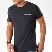 /achat-t-shirts/calvin-klein-tee-shirt-chest-institutional-7852-bleu-marine-201687.html