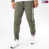 /achat-pantalons-joggings/tommy-sport-pantalon-jogging-fleece-logo-0189-vert-kaki-201613.html
