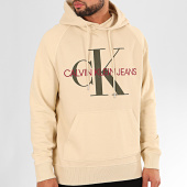 /achat-sweats-capuche/calvin-klein-sweat-capuche-washed-relax-monogram-3219-beige-201922.html