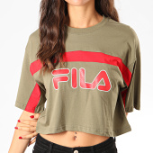/achat-t-shirts/fila-tee-shirt-crop-femme-ulani-687312-vert-kaki-201718.html