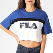 /achat-t-shirts/fila-tee-shirt-crop-femme-ulani-687312-blanc-bleu-roi-201719.html