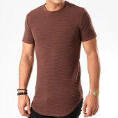 /achat-t-shirts-longs-oversize/john-h-tee-shirt-oversize-a093-marron-201809.html