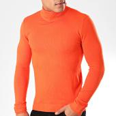 /achat-pulls/john-h-pull-col-roule-zw001-orange-201833.html