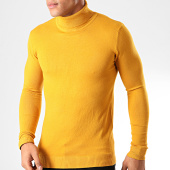 /achat-pulls/john-h-pull-col-roule-zw001-jaune-moutarde-201835.html