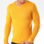 /achat-pulls/john-h-pull-col-v-zw003-jaune-moutarde-201840.html