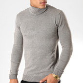 /achat-pulls/john-h-pull-col-roule-zw001-gris-chine-201845.html