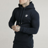 /achat-sweats-capuche/siksilk-sweat-capuche-muscle-fit-16075-bleu-marine-201960.html