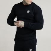 /achat-sweats-col-rond-crewneck/siksilk-sweat-crewneck-16082-noir-201962.html