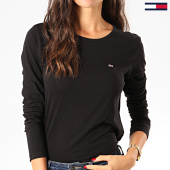 /achat-t-shirts-manches-longues/tommy-jeans-tee-shirt-femme-manches-longues-soft-jersey-6900-noir-201747.html