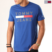 /achat-t-shirts/tommy-jeans-tee-shirt-essential-logo-7430-bleu-roi-201874.html