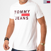 /achat-t-shirts/tommy-jeans-tee-shirt-essential-logo-7430-blanc-201883.html
