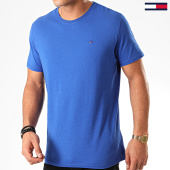 /achat-t-shirts/tommy-jeans-tee-shirt-essential-solid-4577-bleu-roi-201916.html