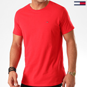 /achat-t-shirts/tommy-jeans-tee-shirt-essential-solid-4577-rouge-201918.html