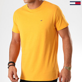 /achat-t-shirts/tommy-jeans-tee-shirt-essential-solid-4577-jaune-201919.html
