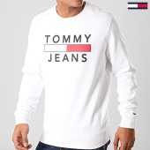 /achat-sweats-col-rond-crewneck/tommy-jeans-sweat-crewneck-essential-graphic-7413-blanc-201932.html
