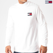 /achat-t-shirts-manches-longues/tommy-jeans-tee-shirt-manches-longues-mock-neck-7476-blanc-casse-201948.html