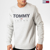 /achat-sweats-col-rond-crewneck/tommy-jeans-sweat-crewneck-novel-logo-7614-gris-chine-201954.html