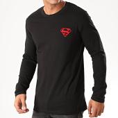 /achat-t-shirts/superman-tee-shirt-manches-longues-logo-feutrine-recto-verso-noir-rouge-202036.html