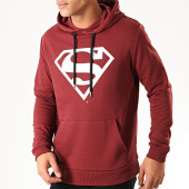 /achat-sweats-capuche/superman-sweat-capuche-big-logo-bordeaux-202044.html