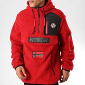 /achat-vestes/geographical-norway-veste-outdoor-fourrure-terifique-rouge-202052.html