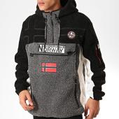 /achat-vestes/geographical-norway-veste-outdoor-fourrure-riakolo-gris-noir-blanc-202148.html