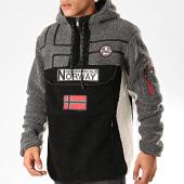 /achat-vestes/geographical-norway-veste-outdoor-fourrure-riakolo-noir-gris-blanc-202160.html