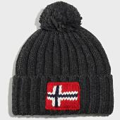 /achat-bonnets/napapijri-bonnet-semiury-2-gris-anthracite-chine-202061.html