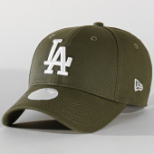 /achat-casquettes-de-baseball/new-era-casquette-femme-9forty-league-essential-12134640-los-angeles-dodgers-vert-kaki-202116.html