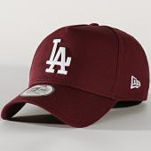 /achat-casquettes-de-baseball/new-era-casquette-league-essential-a-frame-12134887-los-angeles-dodgers-bordeaux-202174.html