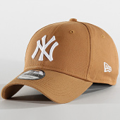 /achat-casquettes-de-baseball/new-era-casquette-baseball-9forty-league-essential-new-york-yankees-12134890-camel-blanc-202175.html