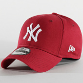 /achat-casquettes-de-baseball/new-era-casquette-baseball-9forty-league-essential-new-york-yankees-12134891-bordeaux-blanc-202176.html