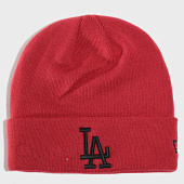 /achat-bonnets/new-era-bonnet-league-essential-cuff-knit-los-angeles-dodgers-12134916-bordeaux-202198.html