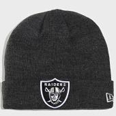 /achat-bonnets/new-era-bonnet-heather-essential-12134979-oakland-raiders-gris-anthracite-202218.html