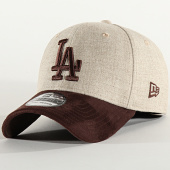 /achat-fitted/new-era-casquette-fitted-39thirty-heather-co-12135004-los-angeles-dodgers-beige-marron-202221.html
