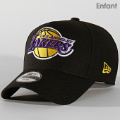 /achat-casquettes-de-baseball/new-era-casquette-enfant-9forty-baseball-12145390-los-angeles-lakers-noir-202225.html