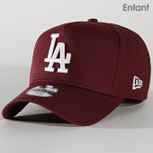 /achat-casquettes-de-baseball/new-era-casquette-enfant-9forty-league-essential-a-frame-12145448-los-angeles-dodgers-bordeaux-202236.html