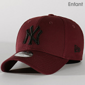 /achat-casquettes-de-baseball/new-era-casquette-enfant-9forty-league-essential-12145455-new-york-yankees-bordeaux-202240.html