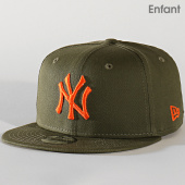 /achat-snapbacks/new-era-casquette-enfant-9fifty-league-essential-12145467-new-york-yankees-vert-kaki-202244.html