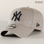 /achat-casquettes-de-baseball/new-era-casquette-enfant-9forty-essential-jersey-12151076-new-york-yankees-gris-chine-202249.html