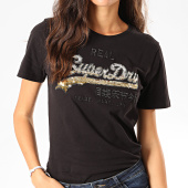 /achat-t-shirts/superdry-tee-shirt-femme-vintage-logo-ombre-sequin-entry-w1000087a-noir-dore-201971.html