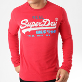 /achat-t-shirts-manches-longues/superdry-tee-shirt-manches-longues-vintage-logo-desert-m6000037a-rouge-201980.html